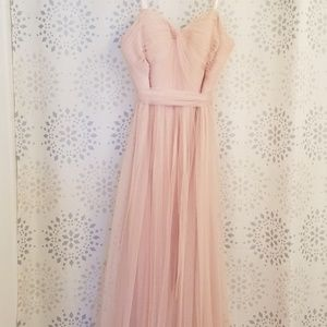 Pink Princess Ballerina Full Length Ball Gown